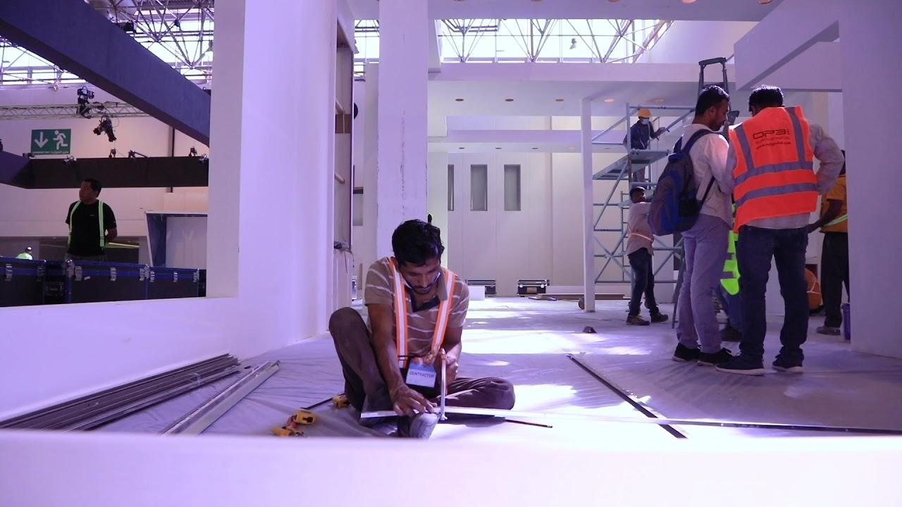 Behind the Scenes|| Acres Real Estate Exhibition 2020 Buildup Days